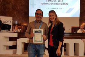 Carta de Movilidad de Formación Profesional Erasmus+