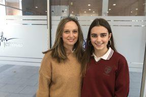 (Español) Ana Prado, nuestra alumna de 4º ESO, consigue una de las Becas de la Fundación Amancio Ortega para estudiar el curso que viene en EEUU.